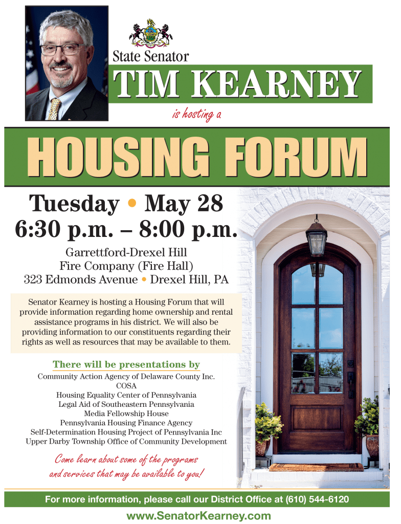 tom kearney housing forum
