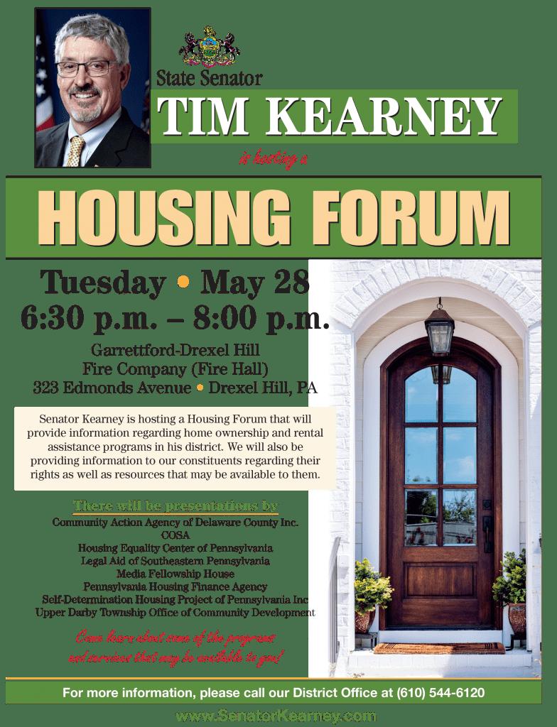 tom kearney housing forum